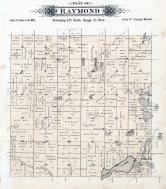 Raymond Township, Sand Lake, Tyrol, Crow River, Stearns County 1896 published by C.M. Foote & Co